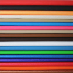 Commerce de gros de haute performance en cuir gaufré décoratifs en PVC synthétique