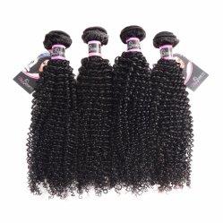 Prodotti per i capelli ricci crespi di tessitura indiani di Remy di alta qualità dei capelli umani del Virgin non trattato originale di ecologia