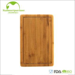 Pieds antidérapants de découpage de panneau de cannelure en bambou normale d'égouttement
