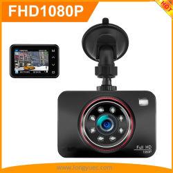 2.7Inch Full HD 1080P carro gravador DVR com visão nocturna Super 8 LED infravermelho