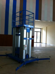 Le travail de l'antenne Platfrom multi mâts / Aluminium Platfrom Platfrom /Travail vertical