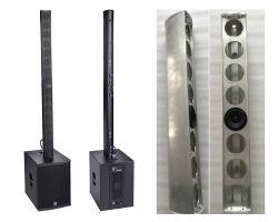 Vergrote Sprekers van de PA van het Systeem van het stadium de Audio Draagbare Systemen