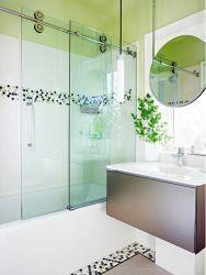 Salle de bains en acier inoxydable avec salle de bain Miroir du Cabinet Le Cabinet