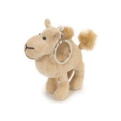 Soft Mini Camelo Animal recheadas de brinquedo Chaveiros Chaveiro camelo de pelúcia