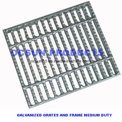 Galvanisierte Stahl-Gitter