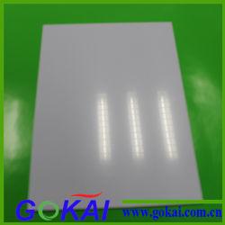 Vlotte Hoge Oppervlakte - het Plastic Blad van Geschikt om gedrukt te worden pvc van Inkjet van de dichtheid A4