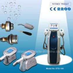 2019 Nueva tecnología patentada Cryolipolysis+ RF Multipolar + 40K de la máquina de adelgazamiento cavitación