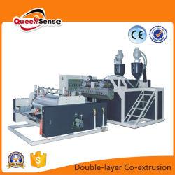Double couche haute efficacité Co-Extrusion Film étirable Machine