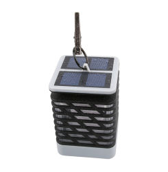 Lámpara LED Solar Power Twinkle luz de velas linterna de jardín Lámpara de colgar
