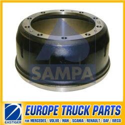 O tambor de travão 3834230201 peças do veículo para a Mercedes Benz