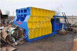 Cesoie della ferraglia con grande capienza per l'officina siderurgica, riciclante le cesoie orizzontali del metallo dell'iarda