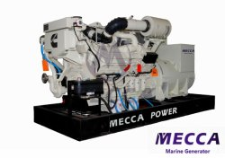 12 цилиндра 800квт электрической мощности дизельного двигателя Cummins турбины морской генератор[Mag024]