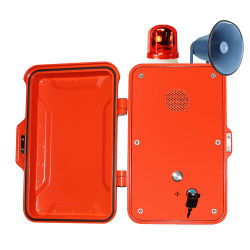 Tunnel de VoIP Téléphone, boîte Appel de l'Autoroute, antivandale Téléphone Heavy Duty