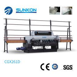 Vidro de Linha Reta Máquina biselamento com mostrador digital