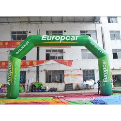 O PVC publicidade Archway Insuflável Arco inflável para vendas