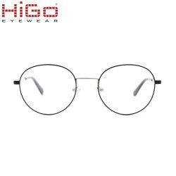 New Style Vollrand Metall Retro Runde Optische Rahmen Brillen Brillen Rahmen Leseglas