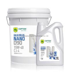SAE 15W40 API Cj-4 Copton Nano陶磁器D90 Nanoshieldの総合的な技術のディーゼル機関オイル