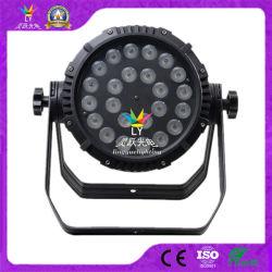 DMX al aire libre, 24x18W LED de alta potencia par luz Can