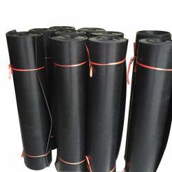 Feuille de caoutchouc en polyuréthane résistant pour la courroie du convoyeur de pièces d'équipement de la jupe