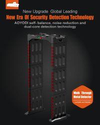 안전 디지털 워크쓰루 금속 검출기 지능형 경보 도어 보안 확인