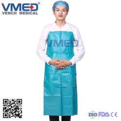 Grembiule pratico impermeabile quotidiano del PVC della plastica di Oilproof, grembiule di /Cooking del ristorante