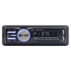 Автомобильная Bluetooth MP3 RDS аудиосистема стерео Авто Радио Bluetooth 12V в-dash 1 DIN Вход Aux FM приемник SD USB-Car Audio Player