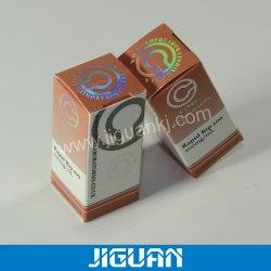 Le pliage du papier FLACON 10 ML Boîte en bois d'impression de la médecine
