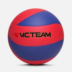 De trillende Kleur liet leeglopen Divers Volleyball van de Grootte Pu