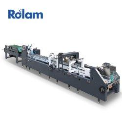 Het automatische Venster die van het Document van Gluer van de Omslag het Vakje herstellen die van de Kop van de Zak van de Verpakking Machine (gk-780CA) maken