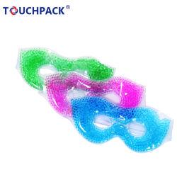 Marca OEM de gel fria cordões de olhos Máscara de olhos reutilizáveis de patches