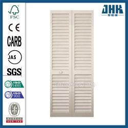 Традиционные деревянные белой деревянной жалюзи Shutter шкаф двери