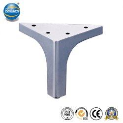 Kundenspezifisches Chrom aufgetragene Metalltisch-Bein-Gefäß-Möbel-Sofa-Zubehör