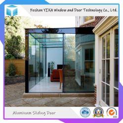 De hitte isoleerde de Thermische Schuifdeur van het Glas van het Aluminium van de Onderbreking Dubbel Aangemaakte voor Sunroom