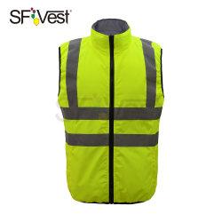 300d Оксфорд светоотражающие куртка с PU или ПВХ покрытием стеганых матрасов Padding светоотражающие куртки