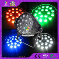 DJ Distco Stage Effect Light 18X18W Zoom 6in1 RGBWA UV مستوى مؤشر LED