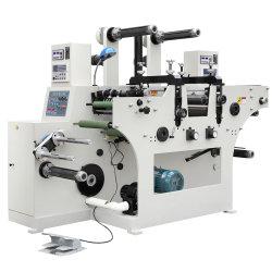 L'alimentation automatique feuille à feuille Étiquette en papier feuille chaude l'Estampage et de mourir de rainage Machine de coupe