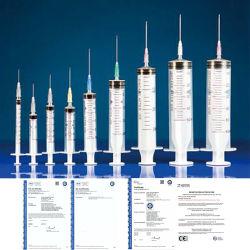 محقنة إمدادات طبية 10 مل مع إبر CE ISO pensing المحقنة