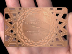 Kundenspezifische Entwurfs-LuxuxmetallVisitenkarte goldene VIP-Karte