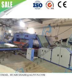La literie en duvet de couvertures de ligne de production, doublure matelassée doublure gros frappeurs ouates Fournisseur de la machine en tissu fabriqués en Chine