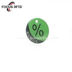 金の製造者RFIDのエポキシの札の印刷されるバーコードまたはシリアル番号のスマートな社会保障カードのキーの時計入れまたはUid