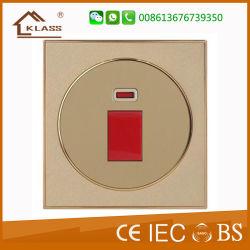 Vendita calda di alta qualità dell'interruttore della parete dell'indicatore luminoso elettrico della famiglia