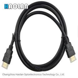 0.3m, 1m, 1.5m, 2m, 3m, 5m. 10m 50 Meter HD 1080P 3D Stecker-Mann-zum männlichen HDMI Kabel