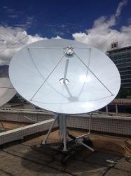 3.7m C, Ku-Band Rx nur Satellitenantenne