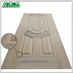 A moldura de madeira natural de pele de porta MDF /Porta de melamina pele para a decoração do painel de porta