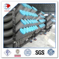 Acciaio al carbonio ASTM A234 Wpb curvatura calda di induzione di 180 gradi