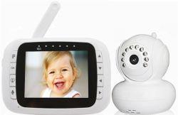 Draadloze Camera LCD van 3.5 Duim de Video-audio Monitor van de Baby
