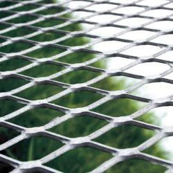 アルミニウムによって拡大される金属の網シートの(平らになる)装飾的なアルミニウム網の空想のネット