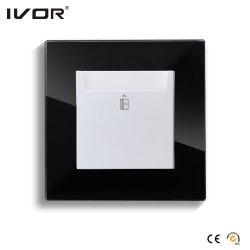 Energieeinsparung Schlüsselkarte Stromschalter HR-ES1000-GL-B Glasrahmen