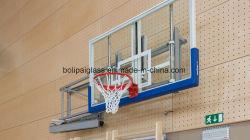 12мм ясно из закаленного стекла баскетбол Backboards с PU подкладка