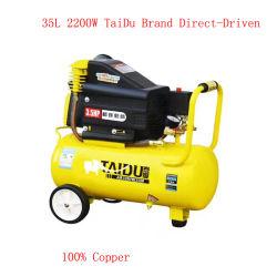 Inflador de neumáticos para coches de pistón industriales Mini portátiles de tornillo de la bomba de aire compresor de alta presión